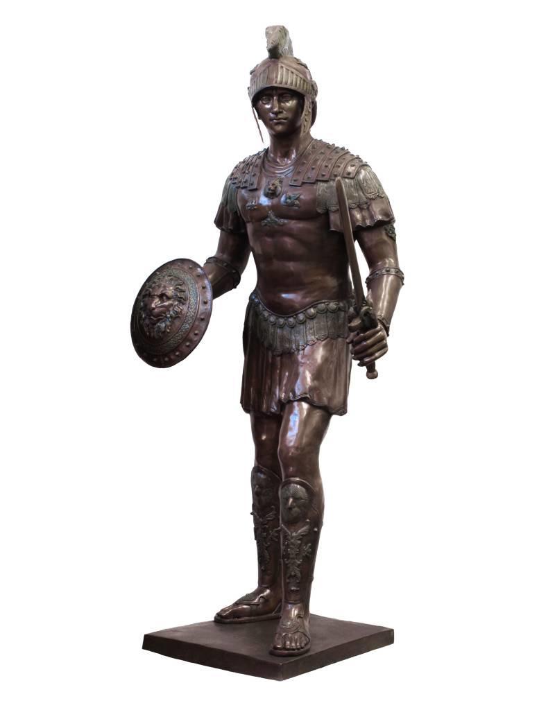 Achilles – Überlebensgroßer Soldat der Antike aus Bronze