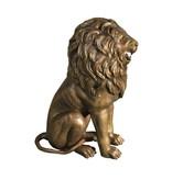 Tuteur Mios – Löwenskulptur aus Bronze