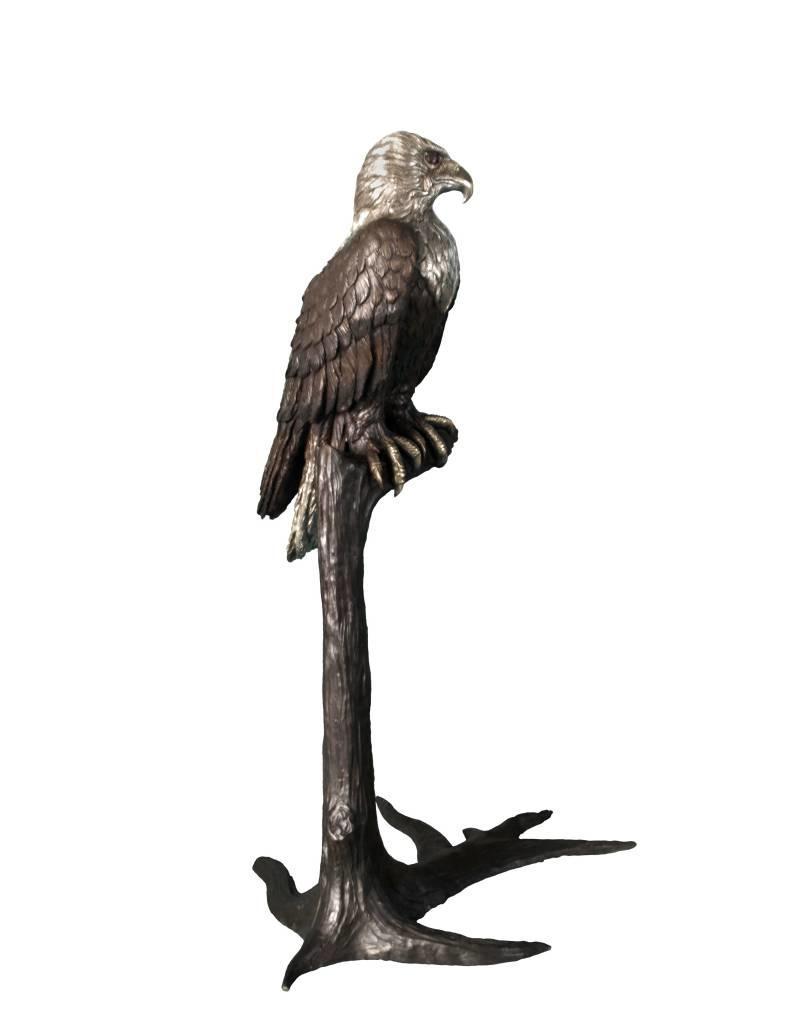 Argos – Bronzeskulptur eines Adlers