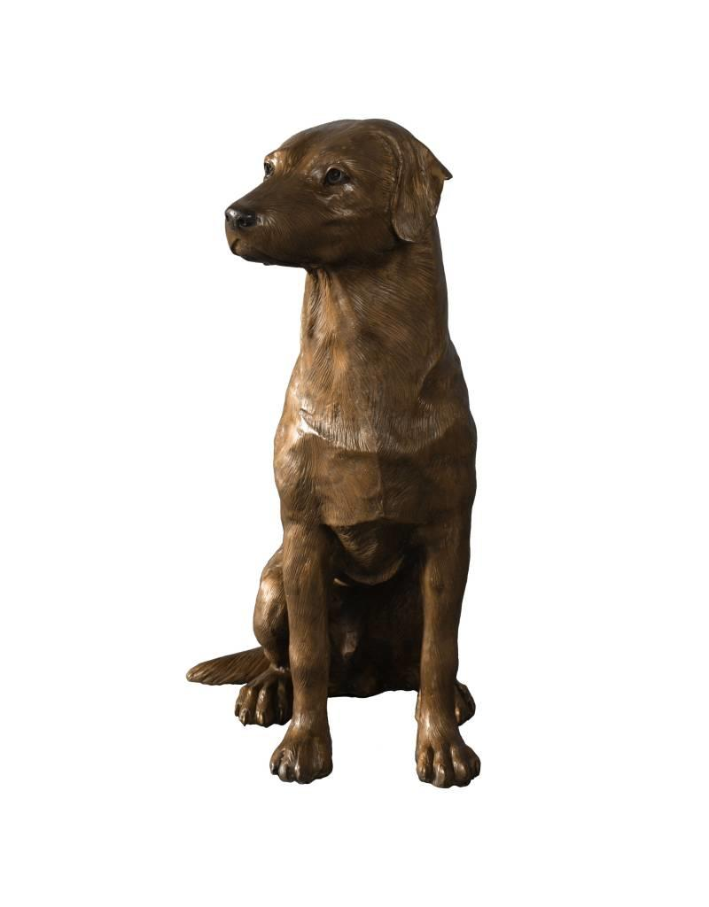 Charly –  Lebensgroße Skulptur eines Labradors
