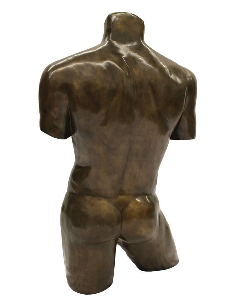 Adonis – Männlicher Torso aus Bronze
