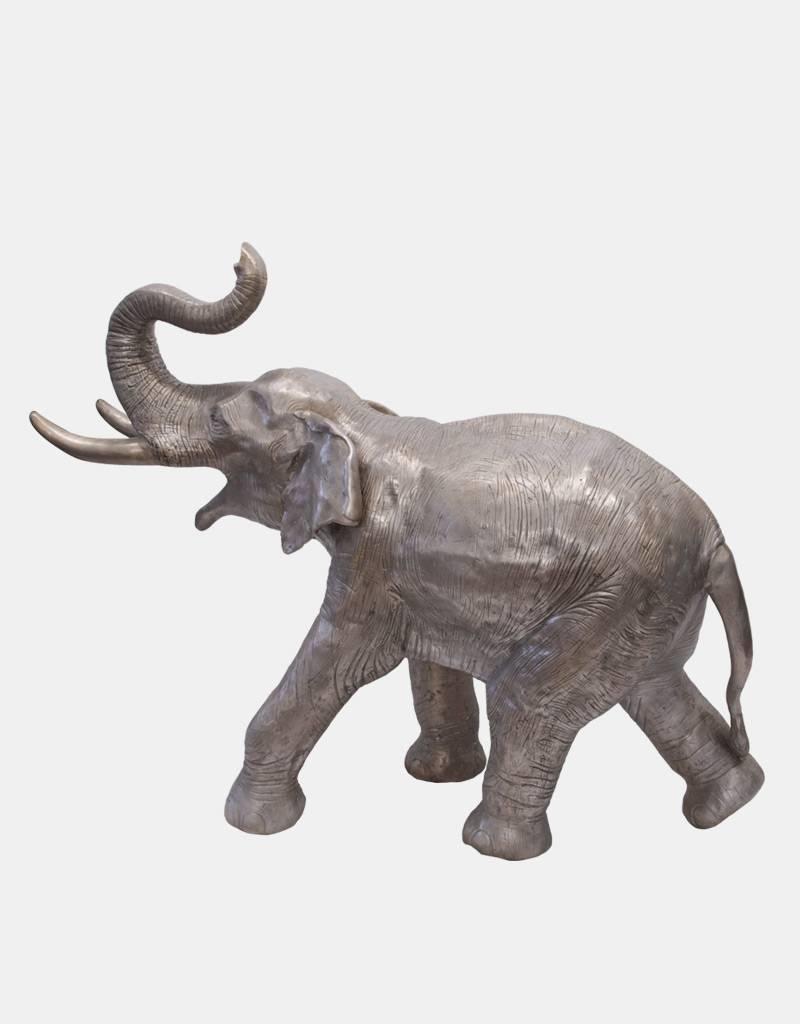 Silber Makarie – Skulptur eines jungen Elefanten