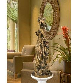 Andria – Bronzefigur mondäne Frau
