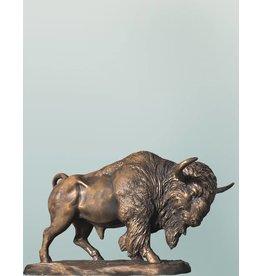 Bonasus - Skulptur eines Bisons