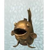 Carassius - Fröhlicher Fisch Wasserspeier