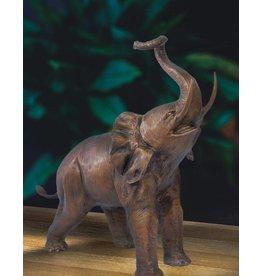 Baba – Elefant Bronzefigur