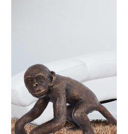 Ateles II – Bronzefigur eines Affen