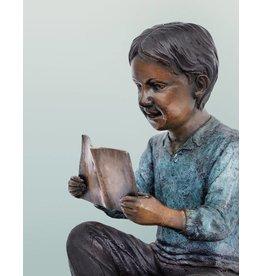 Harry – Bronzeskulptur eines Jungen