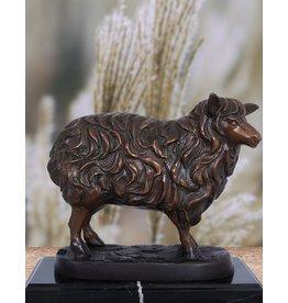 Ovium – Schaf auf Marmorsockel