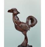 Cata-Vento – Designer Hahn Bronzefigur