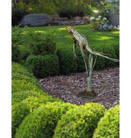 Heket III – Bronzeskulptur eines Frosches