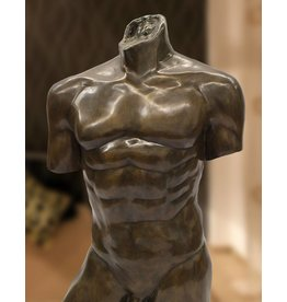 Adonis – Männlicher Bronze-Torso