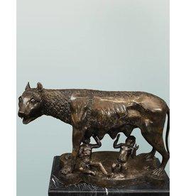 Lupa Romana – Bronzeskulptur