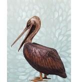 Pelecanus – Lebensgroßer Pelikan Wasserspeier