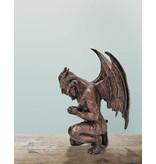 Lucifer – Kleine Bronzefigur eines Dämons