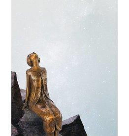 Stella – Sternenbetrachterin Bronzefigur