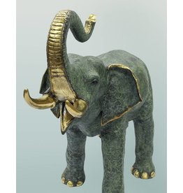 Makari – Elefant große Bronzefigur