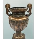 Caesar – Große Bronzevase mit Relief