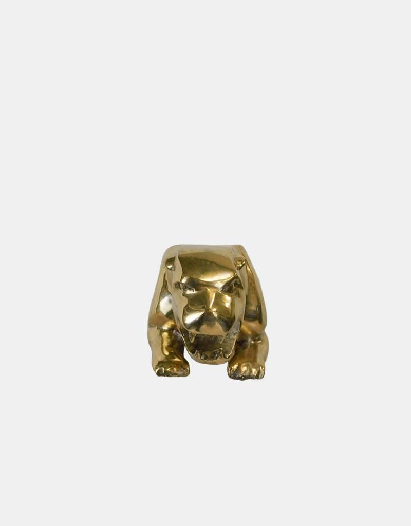 Golden Leaper – Jaguar Bronzeskulptur