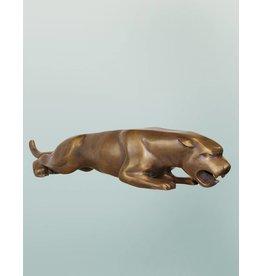 Leaper – Jaguar Bronzefigur