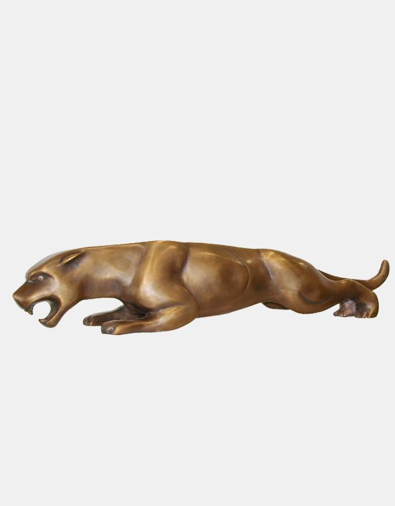 Leaper – Jaguar Bronzeskulptur