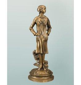 Rosalia – Bronzefigur einer Dame