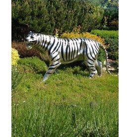 Ortrad – Weißer Tiger Bronzefigur