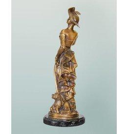 Bellina – Bronzefigur einer Dame