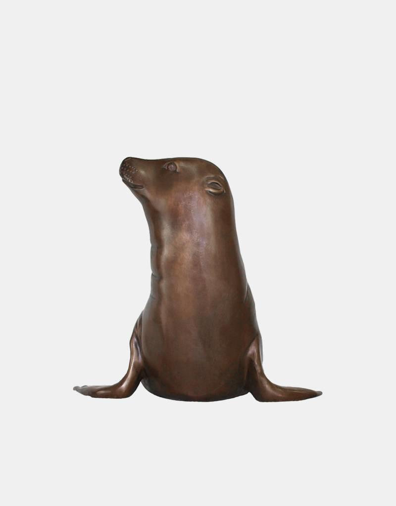 Robyn – Seehund Bronzeskulptur
