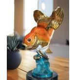 Aquarius – Schleierschwanz Bronzefigur