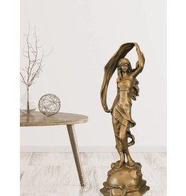 Rena – Bronzeskulptur einer Schleiertänzerin