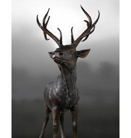 Arietes – Bronzefigur eines Hirsches