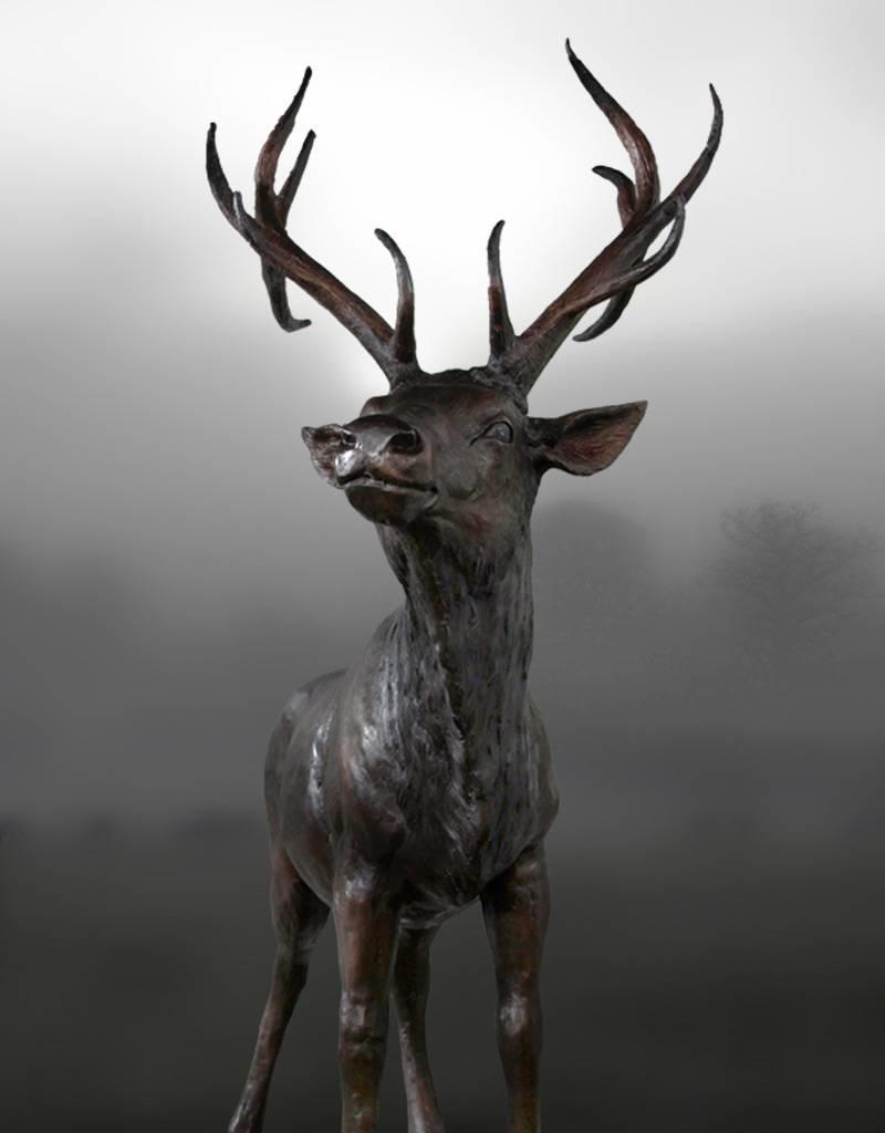 Arietes – Lebensgroße Hirschskulptur