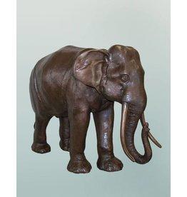 Afrika – Elefant Bronzefigur