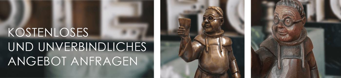 Banner-Individualanfertigung-Bronzefigur