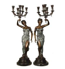 Lucerna Duett – Kerzenleuchter-Paar