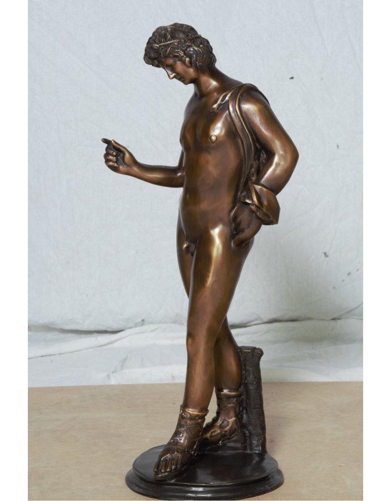 Dionysos – Bronzefigur eines Jünglings