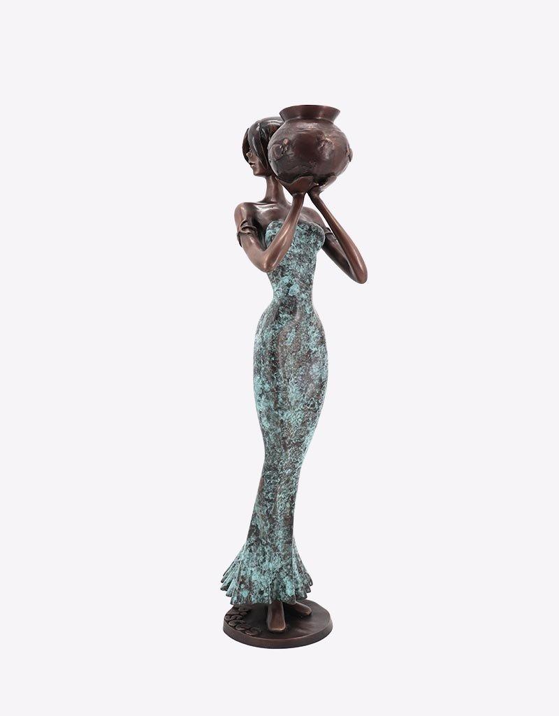 Pisces – Sternzeichen Fische Bronzefigur