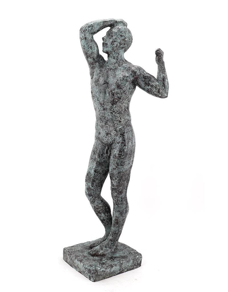 Das Eherne Zeitalter – Bronzefigur nach A. Rodin