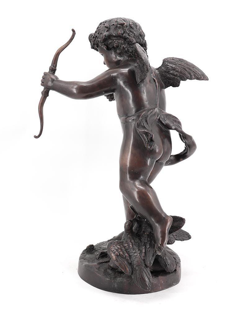Amor – Gott der Liebe Putto Bronzefigur