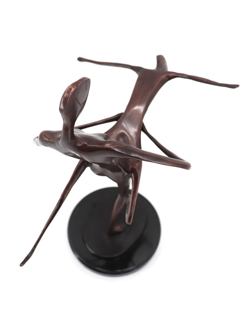 Corpus L'Amour – Abstrakte Bronzestatue