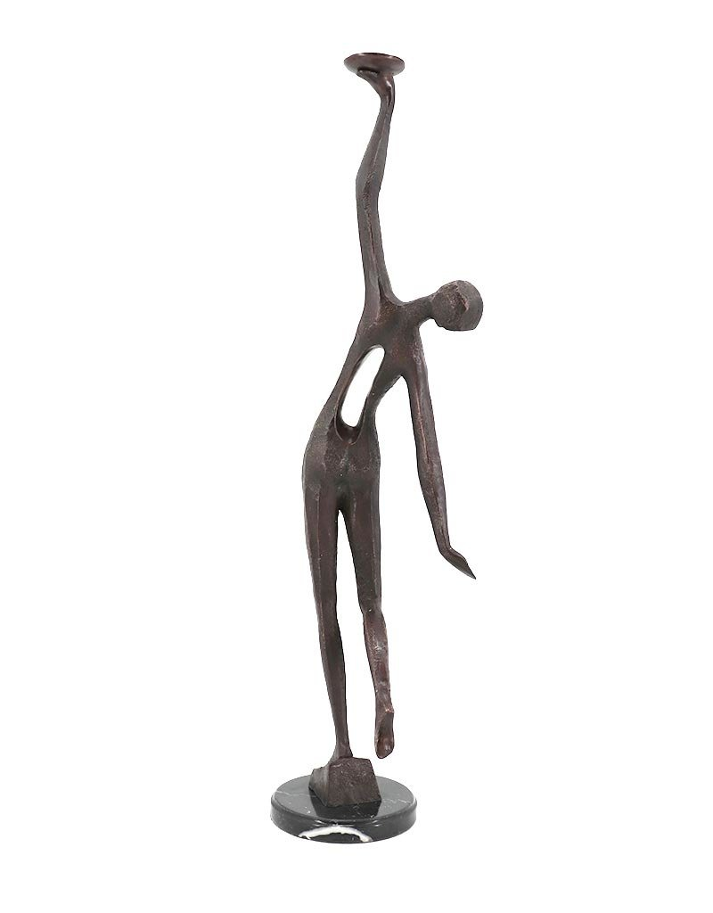 Diwali – Abstrakter Mensch Bronzefigur