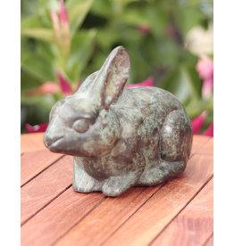 Roger – Kaninchen Bronzefigur