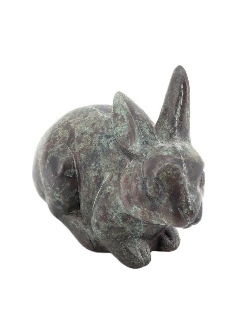Roger – Kaninchen Tierfigur Bronze