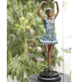 En Pointe – Ballerina Bronzefigur