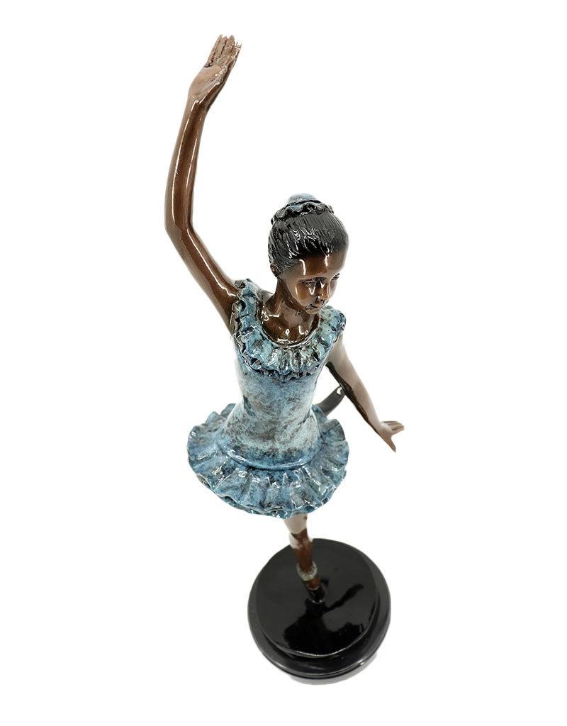 Temps Levé – Tänzerin Bronzefigur