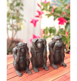 Kleine Sanzaru – Die drei Affen Skulpturen