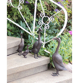 Quack – Entenfamilie Bronzefiguren