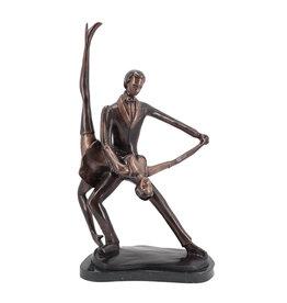 Salsa – Tanzpaar Bronzestatue