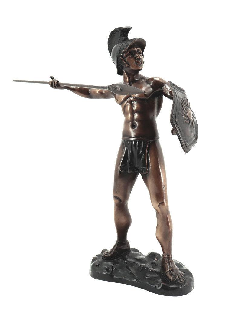 Maximus – Römischer Legionär Bronzefigur